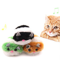 Moving Plush Mouse Funny Rat Playing Toy For Cat Kitten Pet Play Toys A.AU