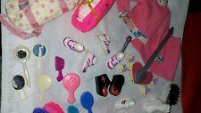 Mattel Barbie Doll Accessories, Fun Stuff, 30+ Misc and Other Fun Items Lot  #3