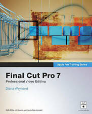 Apple Pro Training Series: Final Cut Pro 7, Weynand, Diana, Very Good Book