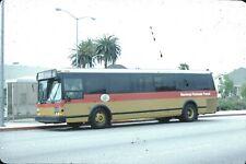 Monterey Peninsula Transit Grumman Flxible Bus Kodachrome original Kodak Slide