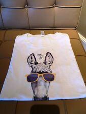 Tee shirt blanc marque REGENT taille XL MANGE DE SON