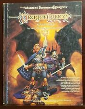 Advanced Dungeons and Dragons: Dragonlance Adventures Used 1987