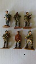 Toy Soldiers 1/32 scale Del Prado WW2 WWII Italian American British