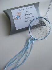 Personalised Mini Dreamcatcher Christening Favours Thank you Gifts Baby Boy Girl