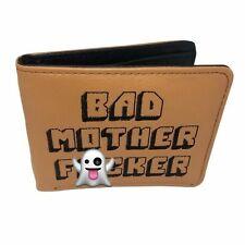Bad Mother F***er Pulp Fiction Brown Wallet l FREE UK SHIPPING  Samuel L Jackson