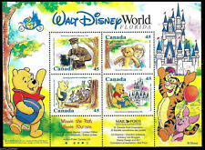 "Canada - ""CARTOONS ~ WALT DISNEY WORLD ~ WINNIE THE POOH"" MNH MS 1996 !"