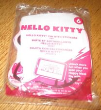 2015 Hello Kitty McDonalds Happy Meal Toy - Tin with Stickers #5