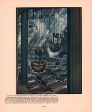 1934 MAGAZINE PRINT  ORFORD METAL PROCESSING COPPER TOP NICKEL BOTTOM