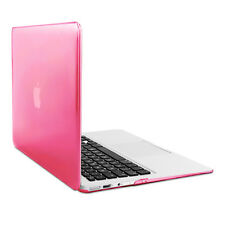 "kwmobile Hard Cover für Apple MacBook Air 13"" (ab Mitte 2011) Pink Transparent"