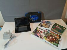 nintendo 3ds xl console bundle with case and 4 games