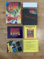 Dragon Warrior - Nintendo NES - Complete In Box CIB Manual - Ships Same Day