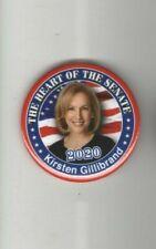 2020 pin KIRSTEN GILLIBRAND pinback President Campaign the HEART of SENATE