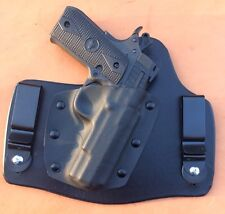 "leather/kydex hybrid IWB holster for Rock Island Armory M1911 A ""Baby Rock"" .380"