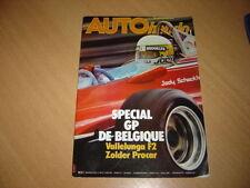 Auto hebdo N°164Gp de Belgique.GTV Turbodelta