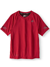 NO RESERVE! NWOT RUSSELL BRILLIANT RED PERFORMANCE SHORT SLEEVE SHIRT-SIZE M (8)