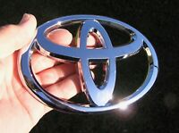 TOYOTA 150mm BADGE suit Commuter Bus Emblem OTHER SIZES AVAILABLE *Good*