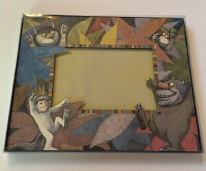 Vintage Maurice Sendak Where The Wild Things Are Photo Frame NEW