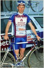(C2/810) Cartoncino Ciclismo Edwin Bafcop – Assur Carpets Colnago