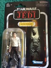 STAR WARS RETURN OF THE JEDI JABBAS PALACE HAN SOLO VC 136 AND REE YEES VC 137