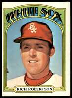1972 Topps Rich Robertson Chicago White Sox #618