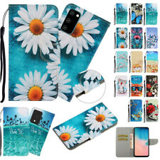 For Samsung Galaxy S20 Plus S20 Ultra Strap PU Leather Wallet Flip Case Cover