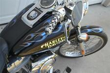 Two Tone Tribal Flame Graphics Set fits Harley Davidson Softail Standard FXSTI