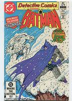 Detective Comics #522 NM  He's Back The Sinister Snowman   DC Comics CBX5A