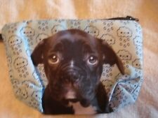 Blue Pouty Frenchie Make up bag New in Packaging