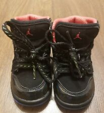 Air Jordan 1 High Toddler Black Pink Blue Size 5c