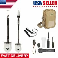 Multi-function Folding Shovel Military Tactical Outdoor Hurricane Survival Spade