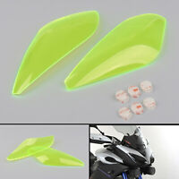 Headlight Screen Guard Protector Windshield For Yamaha FJ09 2015 2016 FYellow B4