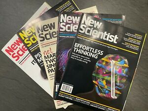 New Scientist magazine (6 random issues)