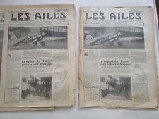 AILES 1931 513 RACER TOUR D'AFRIQUE VICKERS VIASTRA SCOTT COUPE SCHNEIDER MAROC