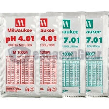 4x20ml, pH 4 + 4 + 7 + 7 Buffer Solution, for Digital pH Meter Calibration