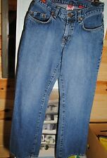 LUCKY BRAND HOT PINK STYLE WOMENS BLUE JEANS SIZE 7 INSEAM 30 1/2 GOOD CONDITION