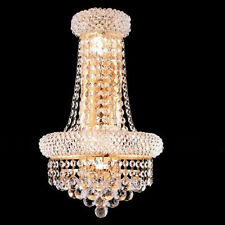 New! Primo Gold 4 Lights wall sconces Lighting 12x17x7