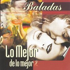 Baladas:Lo Mejor de Lo Mejor by Various Artists (CD, Feb-1999, 2 Discs, Ariola
