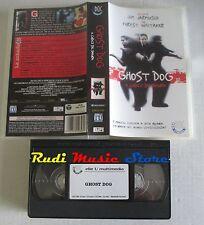 film VHS GHOST DOG IL CODICE DEL SAMURAI Forest Whitaker  1999  (F66)  no dvd