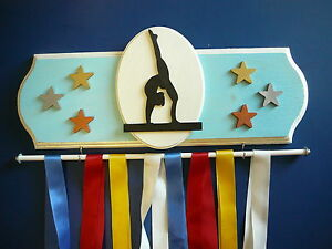 Gymnastics (Female) Sports Medal Display Hanger