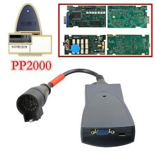PP2000 For Citroen/Peugeot Car Diagnostic Tool with Diagbox V7.83 FULL Chip