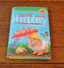 SPRING ACCORDING TO HUMPHREY - BETTY G. BIRNEY - NEW 2016 HARDBACK