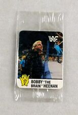 Bobby Heenan WWF Wrestling WrestleMania Hostess Trading Card Sealed #17 WWE