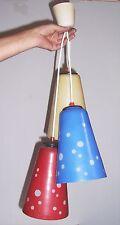 Rockabilly Deckenlampe Tütenlampe Leuchte 50er Retro Stil Design Ära !