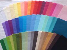 10 Bögen exklusives Seidenpapier, viele Farben, farbecht, ph-neutral, 17 g/m²,