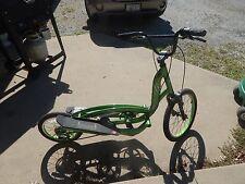 ZIKE SABER GREEN ELLIPTICAL STEPPER BICYCLE- bike scooter