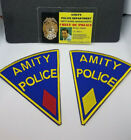 Jaws ID Badge & Patch Set-Chief Of Police Martin Brody costume cosplay prop