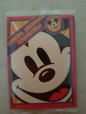 1995 Disneyana convention neat & pretty trading cards