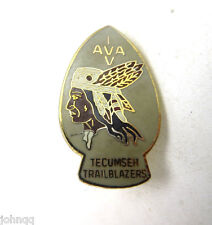 Tecumseh Trailblazers Enamel Lapel Hat Pin