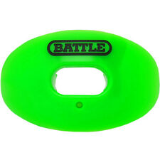 Battle Sports Science Oxygen Lip Protector Mouthguard - Neon Green