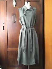 All About Eve Khaki Green Wrap Dress Women's Size 12